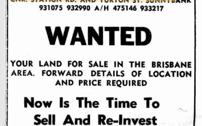 50 years ago in Sunnybank, 19 February 1971